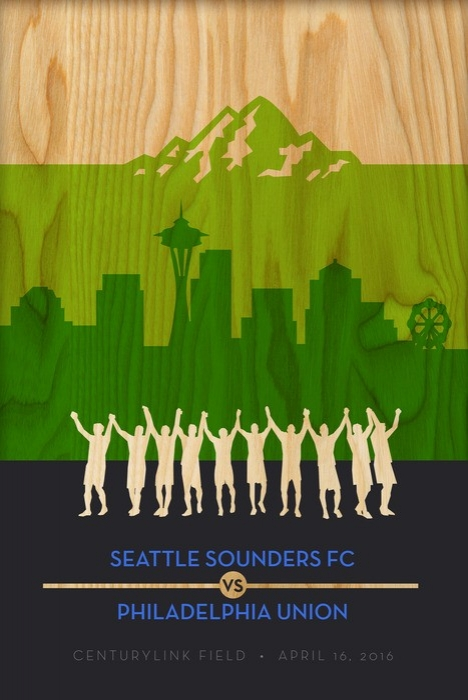 Sounders FC vs Philadelphia Union 2016
